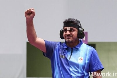 تصویر شماره جواد فروغی اولین طلایی کاروان ایران در المپیک 2020 توکیو