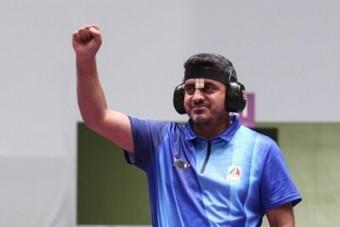 جواد فروغی اولین طلایی کاروان ایران در المپیک 2020 توکیو